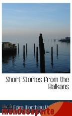 Portada de SHORT STORIES FROM THE BALKANS