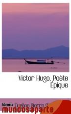 Portada de VICTOR HUGO, POÈTE ÉPIQUE
