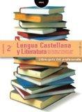 Portada de LENGUA  CASTELLANA Y LITERATURA 2º BACHILLERATO. LIBRO-GUÍA DEL PROFESORADO