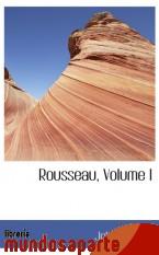 Portada de ROUSSEAU, VOLUME I