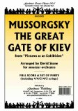 Portada de GREAT GATE OF KIEV ARRANGED BY STONE: SCORE AND PARTS FOR ORCHESTRA