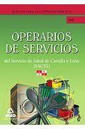Portada de OPERARIOS DE SERVICIOS DEL SERVICIO DE SALUD DE CASTILLA Y LEON .TEST
