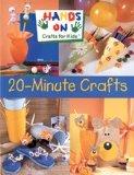 Portada de HANDS ON CRAFTS FOR KIDS: 20-MINUTE CRAFTS
