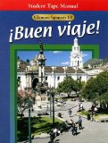 Portada de GLENCOE SPANISH 1B BUEN VIAJE! STUDENT TAPE MANUAL