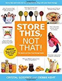 Portada de STORE THIS, NOT THAT!: SAVVY TRICKS AND INSIDER TIPS FOR SURVIVING AND THRIVING WITH YOUR FOOD STORAGE