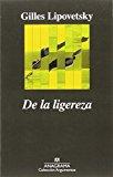 Portada de DE LA LIGEREZA (ARGUMENTOS)