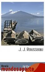 Portada de J. J. ROUSSEAU
