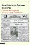 Portada de CARTAS EUROPEAS: CRONICAS EN EL SOL, 1920-1928