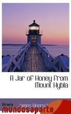 Portada de A JAR OF HONEY FROM MOUNT HYBLA