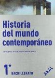 Portada de HISTORIA DEL MUNDO CONTEMPORÁNEO 1º BACHILLERATO