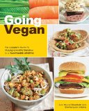 Portada de GOING VEGAN: THE COMPLETE GUIDE TO MAKING A HEALTHY TRANSITION TO A PLANT-BASED LIFESTYLE