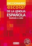 Portada de DICCIONARIO ESCOLAR DE LA LENGUA ESPAÑOLA. (INCLUYE CD-ROM, VERSIÓN PC Y MAC) (DICC. ATLAS EVEREST)