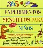 Portada de 365 EXPERIMENTOS SENCILLOS PARA NIÑOS ED. 2013
