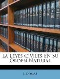 Portada de LA LEYES CIVILES EN SU ORDEN NATURAL
