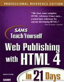 Portada de TEACH YOURSELF WEB PUBLISHING WITH HTML IN 14 DAYS (SAMS TEACH YOURSELF)