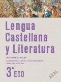 Portada de LENGUA CASTELLANA Y LITERATURA 3.º ESO. LIBRO-GUÍA DEL PROFESORADO