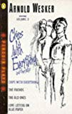 Portada de CHIPS WITH EVERYTHING/ THE FRIENDS/ THE OLD ONES/ LOVE LETTERS ON BLUE PAPER. VOLUME 3 BY ARNOLD WESKER (1980-05-29)