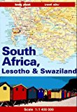 Portada de SOUTH AFRICA, LESOTHO AND SWAZILAND (LONELY PLANET TRAVEL ATLAS) BY JON MURRAY (1994-07-31)