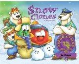 Portada de SNOW CLONES - VEGGIETALES MISSION POSSIBLE ADVENTURE SERIES #5: PERSONALIZED FOR ANTHONY
