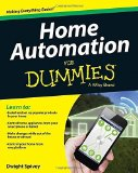 Portada de HOME AUTOMATION FOR DUMMIES BY SPIVEY, DWIGHT (2015) PAPERBACK