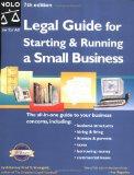 Portada de LEGAL GUIDE FOR STARTING AND RUNNING A SMALL BUSINESS (LEGAL GUIDE FOR STARTING & RUNNING A SMALL BUSINESS)