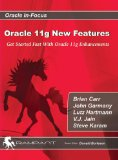 Portada de ORACLE 11G NEW FEATURES: GET STARTED FAST WITH ORACLE 11G ENHANCEMENTS