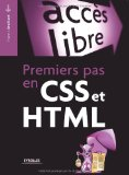 Portada de PREMIERS PAS EN CSS ET HTML (ACCÈS LIBRE)