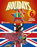 Portada de HOLIDAYS WITH KIKA SUPERWITCH 6TH PRIMARY