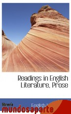 Portada de READINGS IN ENGLISH LITERATURE, PROSE