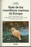 Portada de GUIA DE LOS MAMIFEROS MARINOS DE EUROPA