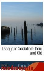 Portada de ESSAYS IN SOCIALISM: NEW AND OLD