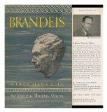 Portada de BRANDEIS, A FREE MAN'S LIFE