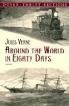 Portada de AROUND THE WORLD IN EIGHTY DAYS (DOVER THRIFT EDITIONS)