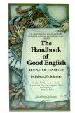 Portada de HANDBOOK OF GOOD ENGLISH