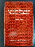 Portada de THE MAJOR WRITINGS OF NICHIREN DAISHONIN (VOLUME TWO)