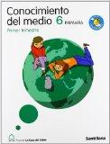 Portada de CONOCIMIENTO DEL MEDIO 6 PRIMARIA M. LIGERA LA CASA DEL SABER