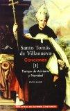 Portada de SANTO TOMAS DE VILLANUEVA CONCIONES :TIEMPO DE ADVIENTO Y NAVI DAD