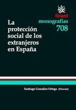 Portada de LA PROTECCIÓN SOCIAL DE LOS EXTRANJEROS EN ESPAÑA