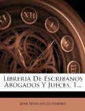Portada de LIBRERIA DE ESCRIBANOS ABOGADOS Y JUECES, 1...