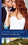 Portada de THE ITALIAN'S ONE-NIGHT BABY (BRIDES FOR THE TAKING, BOOK 2)