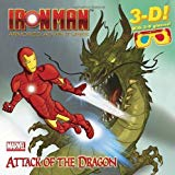 Portada de ATTACK OF THE DRAGON [WITH 3-D GLASSES] (IRON MAN ARMORED ADVENTURES) BY SEBASTIAN BELLE (9-AUG-2011) PAPERBACK
