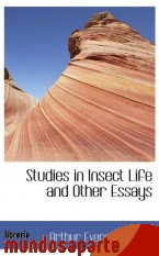 Portada de STUDIES IN INSECT LIFE AND OTHER ESSAYS