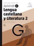 Portada de APOSTROFE-A- LENGUA CASTELLANA Y LITERATURA 2 (2º BACHILLERATO)