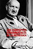 Portada de LOS CONCEPTOS FUNDAMENTALES DE LA METAFISICA: MUNDO, FINITUD, SOLEDAD