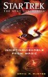 Portada de STAR TREK: THE NEXT GENERATION: INDISTINGUISHABLE FROM MAGIC