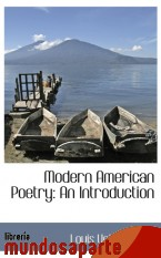 Portada de MODERN AMERICAN POETRY: AN INTRODUCTION