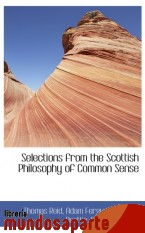 Portada de SELECTIONS FROM THE SCOTTISH PHILOSOPHY OF COMMON SENSE