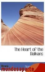 Portada de THE HEART OF THE BALKANS