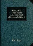 Portada de KRIEG UND FRIEDEN IM AMEISENSTAAT (GERMAN EDITION)