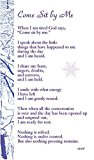 Portada de COME SIT BY ME (PREPACK OF 100): SNOW FALLING ON SNOW BOOKMARK